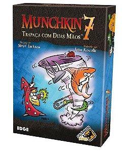 Muchkin 7 Trapaça com Duas Mãos - Expansão - Jogo de tabuleiro