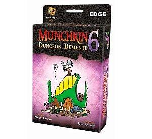 Muchkin 6  Dungeon Demente - Expansão - Jogo de tabuleiro