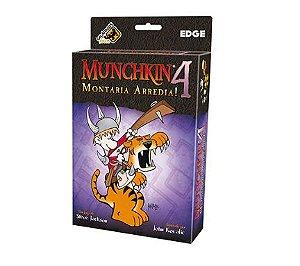 Muchkin 4 MONTARIA ARREDIA - EXPANSÃO - Jogo de tabuleiro