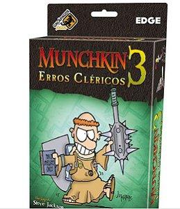 Muchkin 3 Erros Clericos - EXPANSÃO - Jogo de tabuleiro