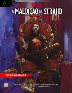KIT RAVENLOFT: A MALDIÇÃO DE STRAHD + ESCUDO DO MESTRE - DUNGEONS AND DRAGONS 5ª Ed (em português)