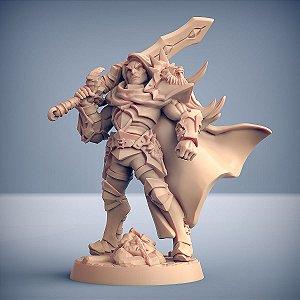 SIGFRIDO DRAGONBANE (Guerreiro) - Guilda dos Guerreiros - Miniatura Artisan Guild