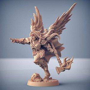 MORGANA, A ASCENDENTE (Anjo) - Guilda dos Guerreiros - Miniatura Artisan Guild