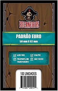 SLEEVE EURO (59x92) - Bucaneiros - 100 un.
