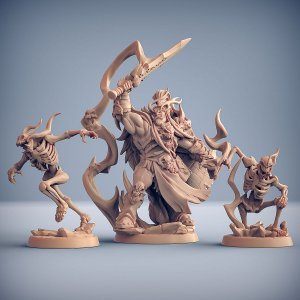 KENTARGH GROTAR - Clã Frostmetal - Miniatura Artisan Guild