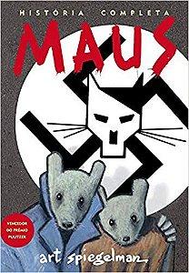 Livro -Maus - Ed.Art Speicegelman