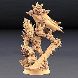 DZWINGO, O MAIS ALTO - Goblins do clã Sparksoot - Miniatura Artisan Guild