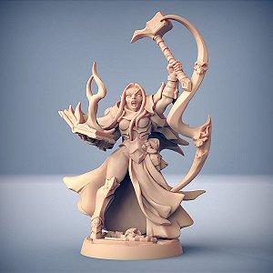TALYA, O MARTELO - Inquisidores Elfos Cinzentos - Miniatura Artisan Guild