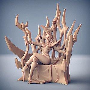VALYKKA, NOIVA DE TIALEVOR (Pin Up)- Inquisidores Elfos Cinzentos - Miniatura Artisan Guild