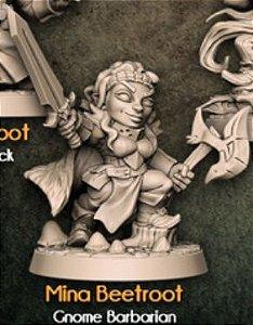 MINA BEETROOT - Conto da Espada Curta - Miniatura Artisan Guild