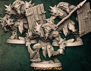TRIO DE GOBLÕES - Conto da Espada Curta - Miniatura Artisan Guild
