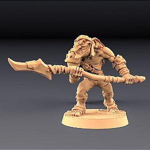 """GOBLIN """"C"""" - Goblins do clã Sparksoot - Miniatura Artisan Guild"""