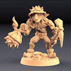 "GOBLIN ""D"" - Goblins do clã Sparksoot - Miniatura Artisan Guild"