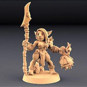 "GOBLIN ""F"" - Goblins do clã Sparksoot - Miniatura Artisan Guild"