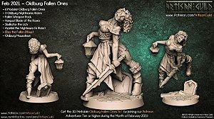 Elisa (Pin Up) - Caídos de Oldburg - Miniatura Artisan Guild