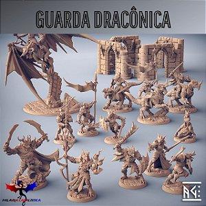 Minibox - Guarda Dracônica - Box de Miniaturas em resina da Artisan Guild