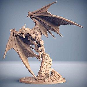 Ornithaax, o Majestoso - Guarda Dracônica - Miniatura Artisan Guild