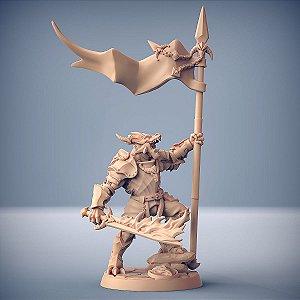"""Guarda """"D"""" - Guarda Dracônica - Miniatura Artisan Guild"""