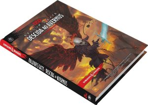 KIT Descida ao Avernus + Escudo do Mestre - DUNGEONS AND DRAGONS 5ª Ed (em português)