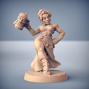 Fraia, a Estalajadeira - Perjuradores Anões - Miniatura Artisan Guild