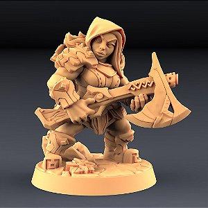 """Perjurador """"D"""" - Perjuradores Anões - Miniatura Artisan Guild"""