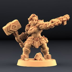 """Perjurador """"E"""" - Perjuradores Anões - Miniatura Artisan Guild"""