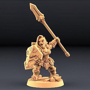 """Perjurador """"F"""" - Perjuradores Anões - Miniatura Artisan Guild"""