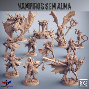 Minibox - Vampiros Sem Alma - Box de Miniaturas em resina da Artisan Guild