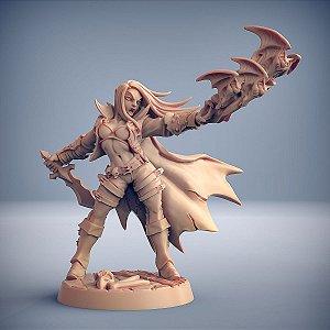 """Vampiro """"D"""" - Vampiros Sem Alma - Miniatura Artisan Guild"""