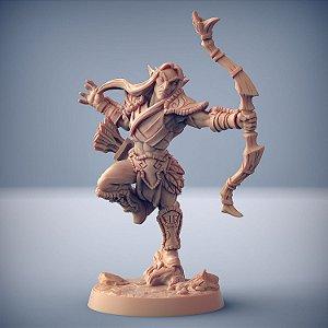 """Elfo """"A"""" - Elfos da Mata Profunda - Miniatura Artisan Guild"""