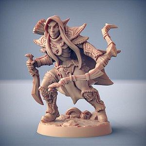 """Elfo """"F"""" - Elfos da Mata Profunda - Miniatura Artisan Guild"""