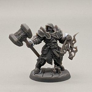 """Templário """"A"""" - Irmandade do Réquiem - Miniatura Artisan Guild"""