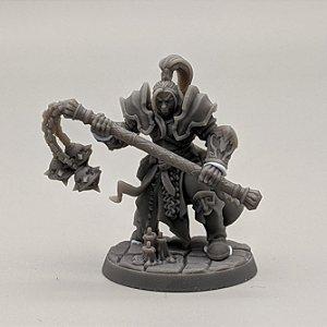 """Templário """"E"""" - Irmandade do Réquiem - Miniatura Artisan Guild"""
