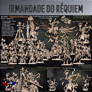 Minibox - Irmandade do Réquiem - Box de Miniaturas em resina da Artisan Guild