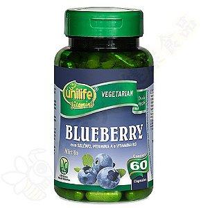 Blueberry em cápsulas c/60 - Unilife