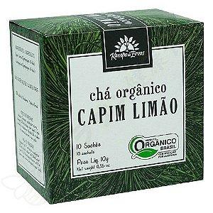 Chá de Capim Limão Orgânico sachês c/10 10g - Kampo de Ervas