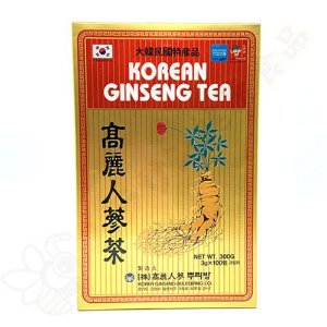Chá de Ginseng Coreano em sachê instantâneo c/100 - Korea Ginseng