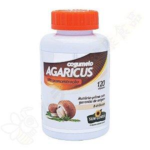 Cogumelo Agaricus em Cápsulas c/120 - Sunflower