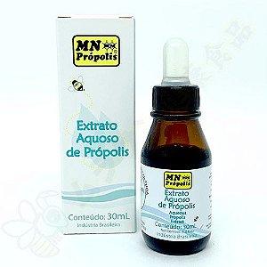 Extrato de Própolis Aquoso 18% (Sem Álcool) 30ml - MN Própolis