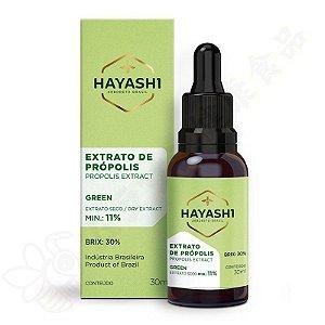 Extrato de Própolis Hayashi 11% 30ml - Hayashi Própolis