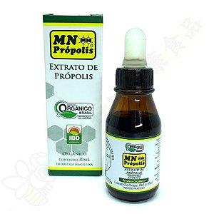 Extrato de Própolis Orgânico 15% 30ml - MN Própolis