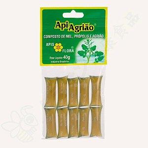 Mel com Própolis e Agrião em sachês 40g ApiAgrião - Apis Flora