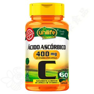 Vitamina C 400mg c/60 - Unilife