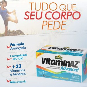 VitaminAZ Advanced 1500mg c/30 - Sunflower