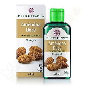 Óleo Vegetal de Amêndoa Doce 60ml - Phytoterápica