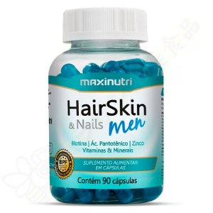 Hair Skin & Nails Men c/90 - Maxinutri