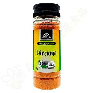 Curcuma Orgânica em Pó 70g - Turmeric / Curcumina - Kampo De Ervas
