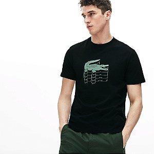 Camiseta Lacoste Preta
