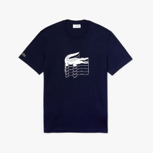 Camiseta Lacoste Regular Marinho