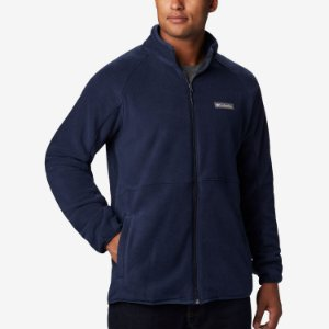 Jaqueta Columbia Fleece Basin Trail Marinho